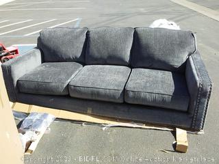 Lundys Sofa Bed with legs (Damaged) torn on back