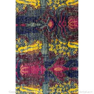 "Solo Rugs Hand Knotted Area Rug 5' 2"" x 7' 2"" Multicolor (online $1534)"