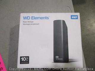 WD Elements Basic Storage Stockage Simplement