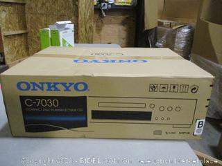 Onkyo Compact Disc Player