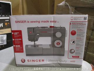 Singer Heavy Duty Sewing Machine (Sealed)