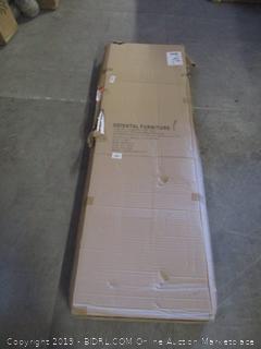 diamond weave fiber furniture item - box damage