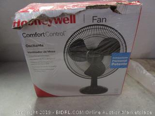 honeywell oscillating table fan