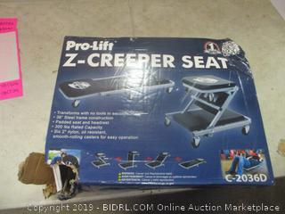 Pro-Lift Z Creeper seat