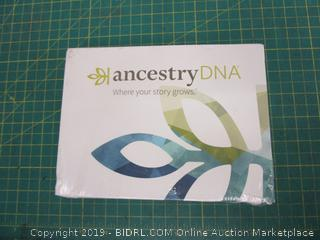 Ancestry DNA Genetic testing