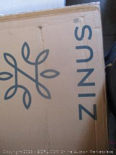 Zinus Shawn Metal Platform Bed, Cal King