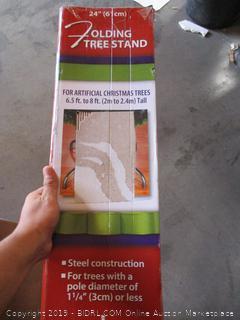 Folding Tree Stand
