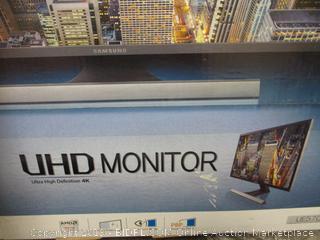 "Samsung UHD Monitor 28"""