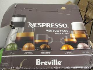 Nespresso Vertuo Plus and Aeroccino
