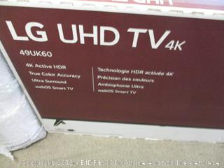 "LG UHD TV 49"" Screen"