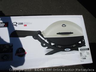 Weber Q Gas Grille 2200