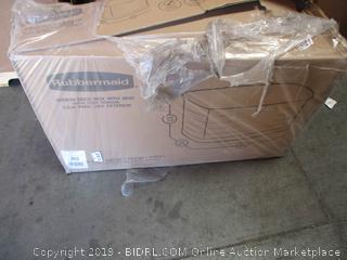 Rubbermaid Deck Box w/ Seat