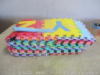 Foam Alphabet Floor Pads