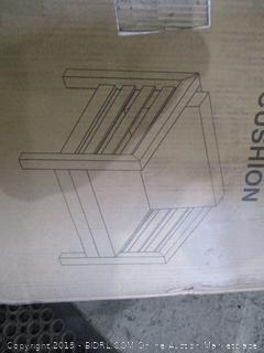 Wood Club Chair