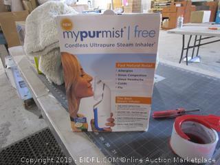 My Pur Mist Cordless Ultraspure Steam Inhaler