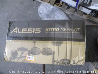 Alesis Nitro Mesh Kit Electric Drum Kit with Mesh Heads See Pictures  See Pictures