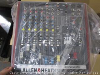 Allen & Heath ZED Sixty-10FX & ZED Sixty-14FX