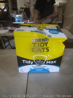 Cat litter dented box