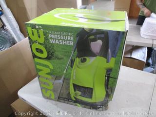 Sunjoe electric Pressure Washer