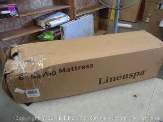 "Linenspa  6"" Spring Mattress Twin"