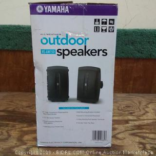 Yamaha All Weather Outdoor Speakers Factory Sealed