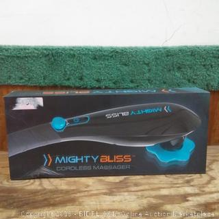 Mighty Bliss Cordless Massager factory sealed