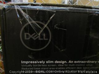 Dell Virtually borderless screen