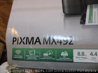 Canon Pixma Wireless MX492