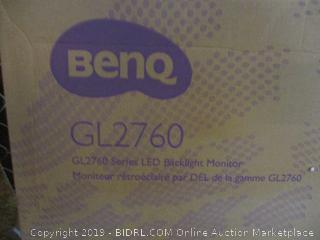 Benq GL2760 Series LED Backlight Monitor