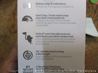 Scosche Wireless Fast Charging Window Dash Mount Factory Sealed