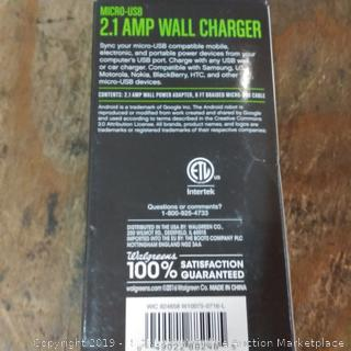 Cable and Wall Charger