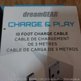 Dreamgear Charge & Play 10 Foot Charge Cables