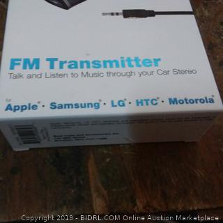 Wireless cable and wireless FM Transmitter