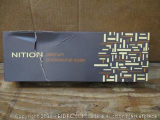 Nition Platinum Professional Styler box damage