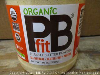 Organic Peanut Butter Fit Powder