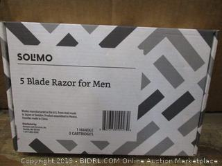 Solimo 5 Blade Razor for Men