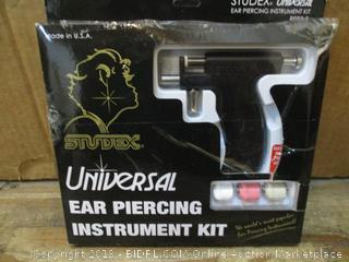 Universal Ear Piercing Instruction Kit box damage