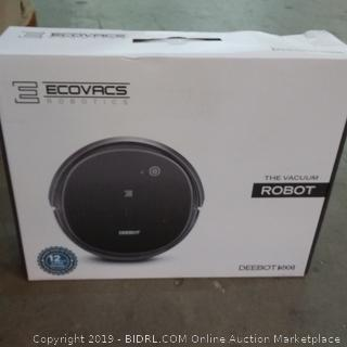 Ecovacs Robotics The Vacuum Robot box damage
