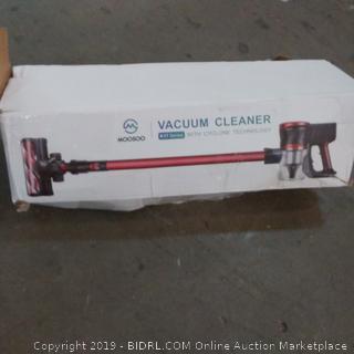 Moosoo vacuum Cleaner  box damage