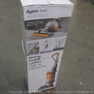 Dyson ball multi floor 2 Factory Sealed, box damage
