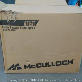 McCullock Deluxe Canister Steam System