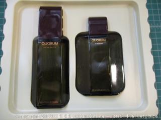 Quorum Eau de toilette Natural Spray and After Shave