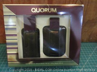 Quorum Eau de toilette Natural Spray and After Shave