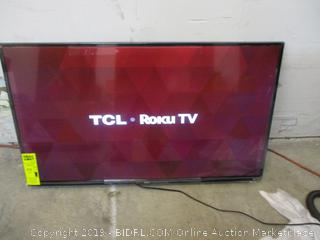 """TCL Roku TV Smart TV 43"""" in Box Powers on See Pictures"""