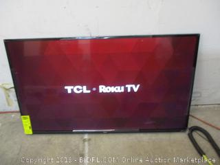 """TCL Roku TV Smart TV 49"""" in box Powers on See Pictures"""