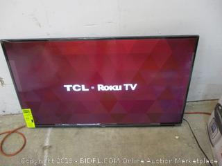 """TCL Roku TV Smart TV 43"""" Powers on See Pictures"""