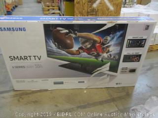 """Samsung Smart TV 55"""" Powers On"""