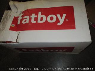 Fatboy The Original Bean Bag Chair, Orange (Retail $209.00)