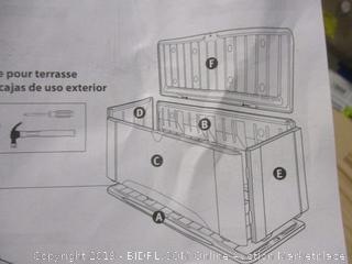 Rubbermaid Deck Box