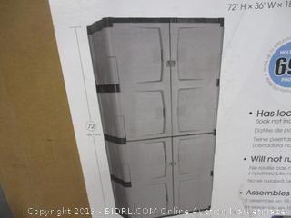 Rubbermaid Cabinet